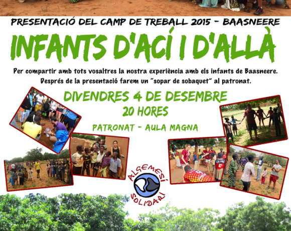 Camp de treball Baasneere 2015