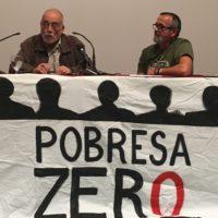"""Arcadi Oliveres fa una crida a participar en els grups que lluiten contra les violències per a començar a millorar la societat""""Segons Oliveres """"La Lluita contra la violència deu ser una manera de viure"""""""